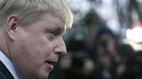 Le maire de Londres Boris Johnson