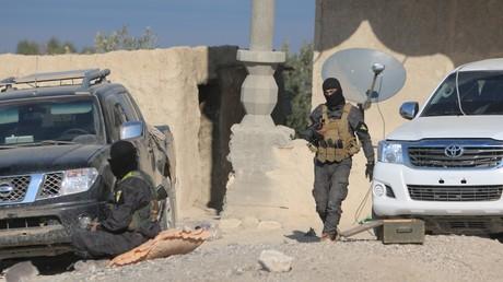 Des combattants kurdes syriens