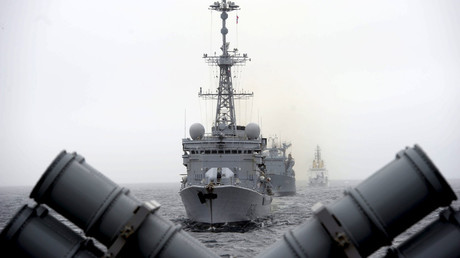 L'exercice anti-sous-marin «Dynamic Mangoose» en mer du Nord, au large des côtes norvégiennes