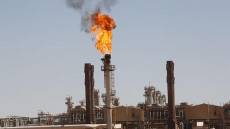 La raffinerie d'In Amenas en Algérie en 2013