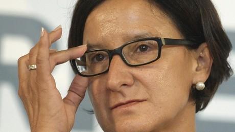 La ministre de l'Intérieur d'Autriche, Johanna Mikl-Leitner