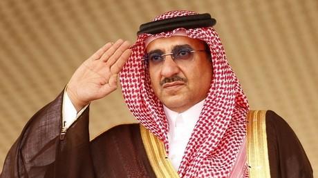 Le prince héritier d'Arabie saoudite Mohammed ben Nayef