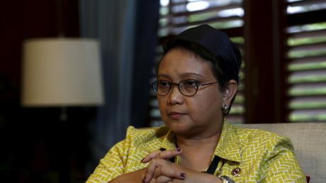 Le ministre indonésien des Affaires étrangères, Retno Marsudi