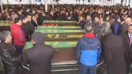 Ankara pleure les victimes de l'attentat suicide du 13 mars