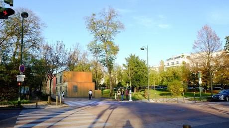 Le centre d'hébergement d'urgence à Paris