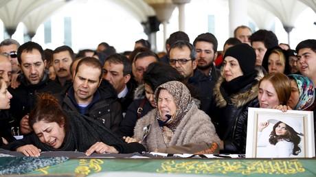 Les obsèques des victimes de l'attentat du 13 mars à Ankara