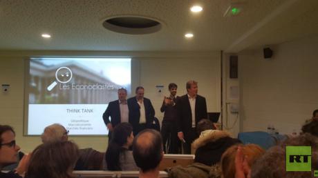 Les Econoclastes ont donné leur deuxième conférence mardi à Paris.