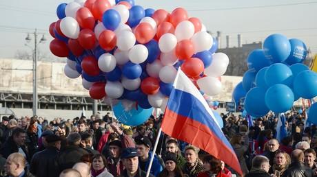 La célébration du rattachement de la Crimée à la Russie