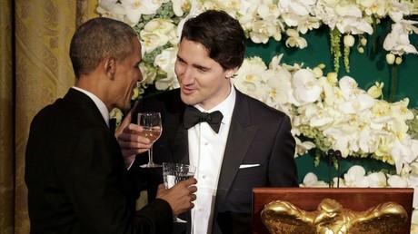 Le Premier ministre canadien Justin Trudeau et le président des Etats-Unis Barack Obama