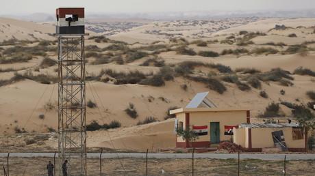 Poste de police égyptien dans le Sinaï