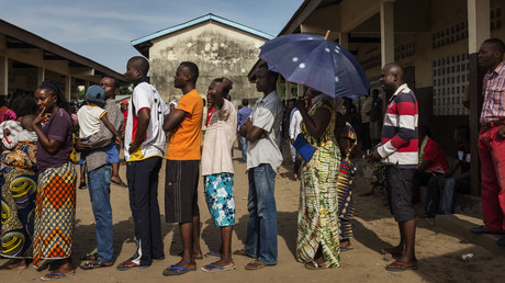 Les Congolais votent à Brazzaville