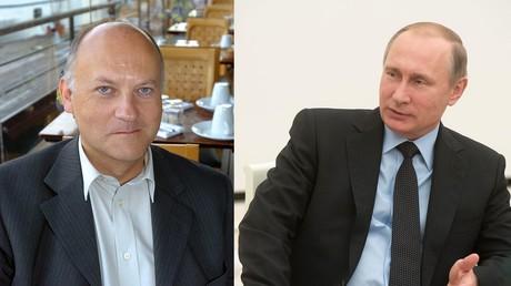 Bruno Denaes et Vladimir Poutine