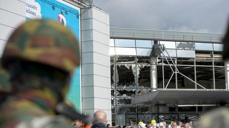 L'aéroport de Bruxelles suite à l'attentat du 22 mars 2015
