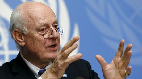 Steffan de Mistura, envoyé spécial aux Nations Unies