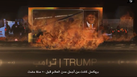 Donald Trump dans une vidéo de l'EI