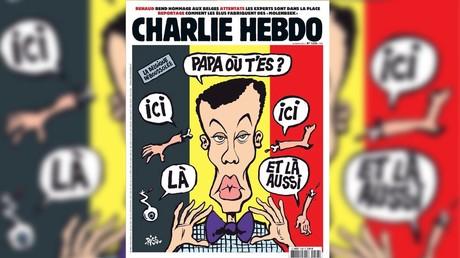 Les Belges choqués par la Une de Charlie Hebdo sur les attentats de Bruxelles