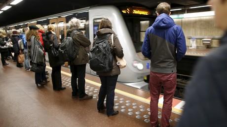 Le métro de Bruxelles