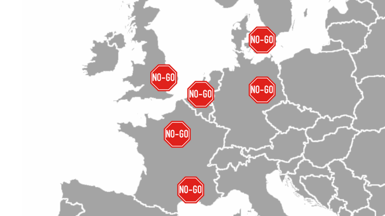 Migrants : «900 zones de non droit» en Europe, dont en France, selon le gouvernement hongrois