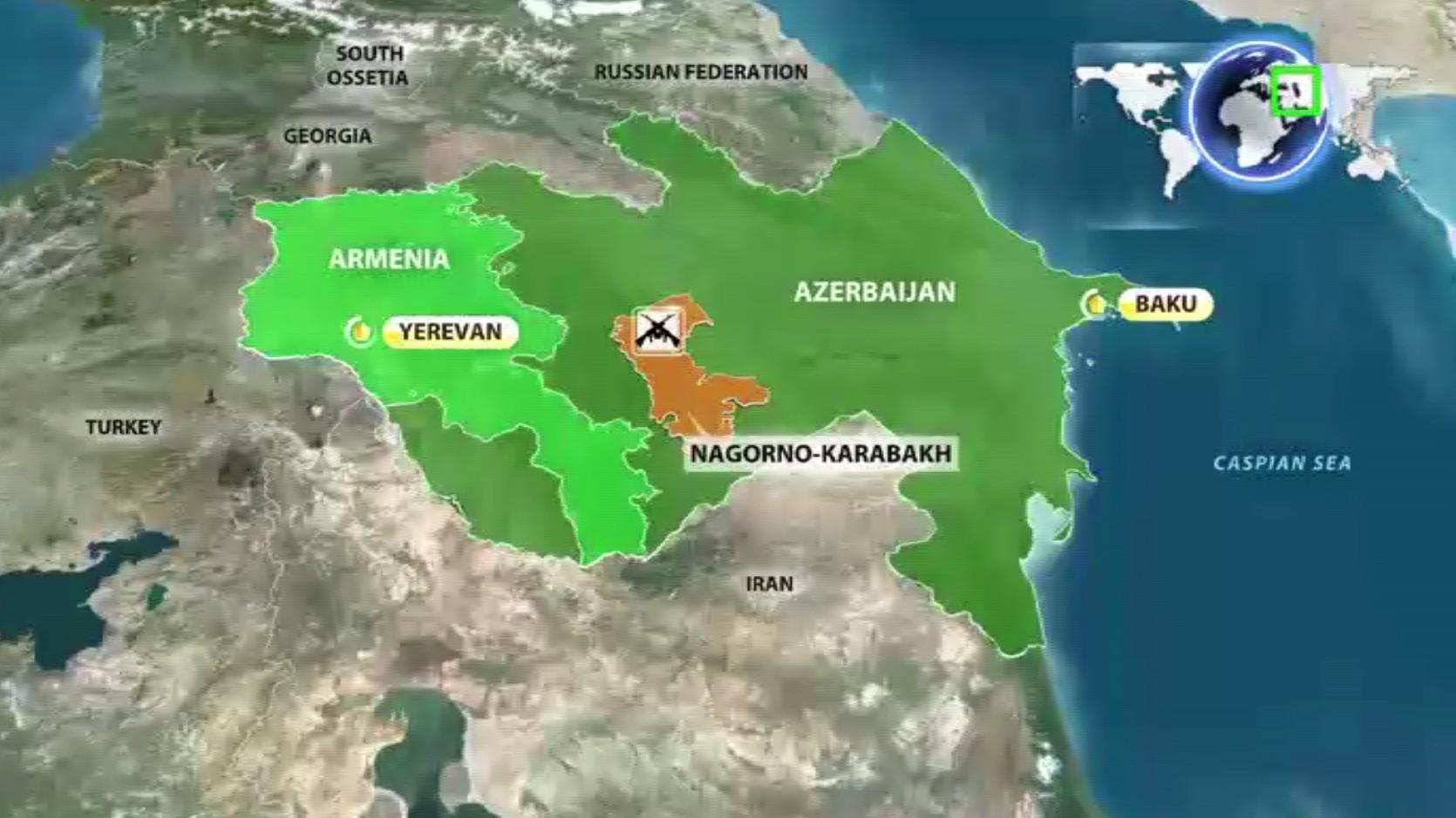 Défense arménienne : la trêve est officiellement conclue dans le Haut-Karabagh