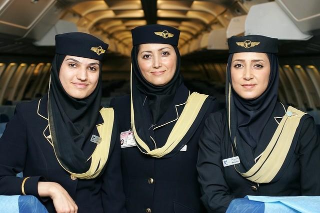 les hôtesses d'IranAir