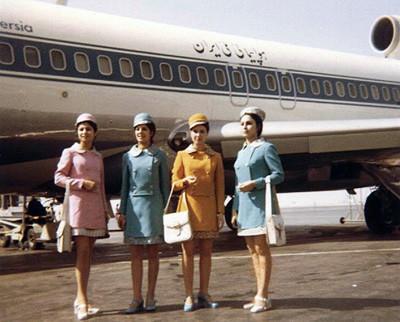 Paris-Téhéran :le maire de Vence demande aux hôtesses d'Iran Air de s'habiller façon années 1960