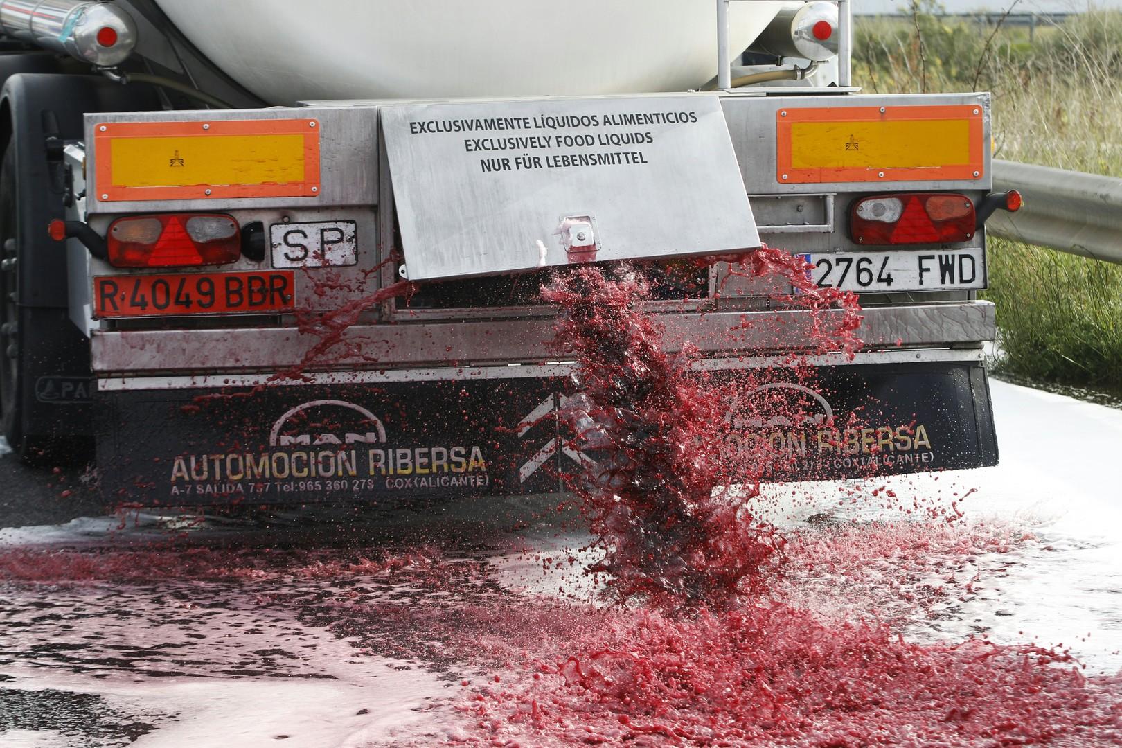 L'Espagne convoque l'ambassadeur de France après des attaques de citernes de vin