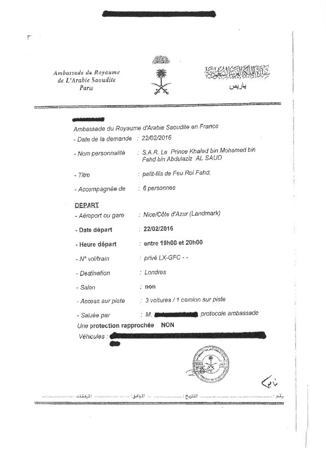 Les documents obtenus par Nice-Matin et publiés sur le site du quotidien