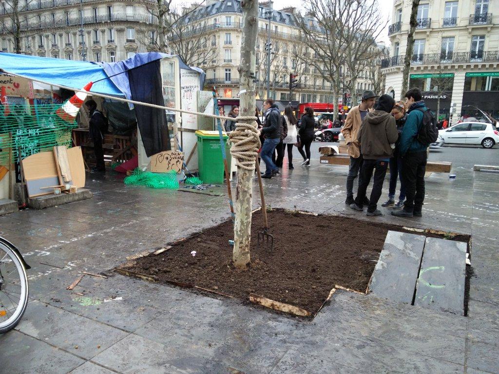 Nuit debout la mairie de paris va porter plainte apr s - Porter plainte combien de temps apres ...