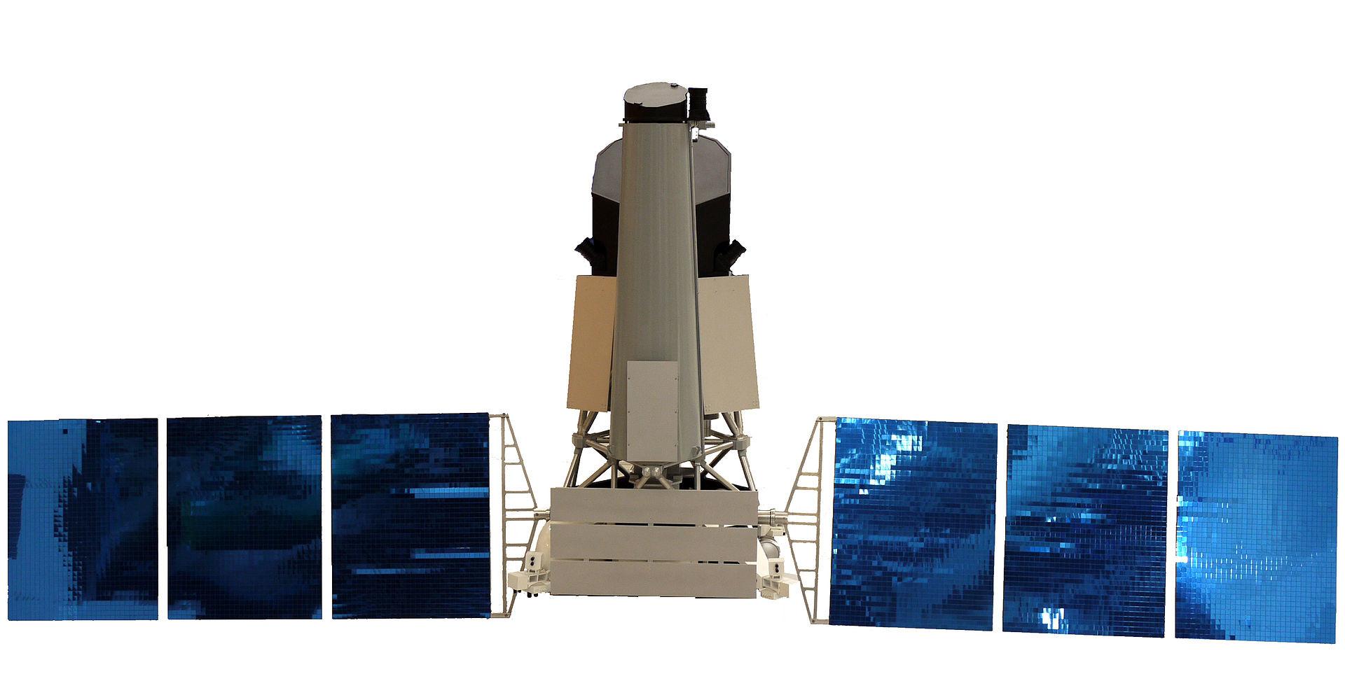 Maquette de Spektr-RG présentée au salon du Bourget 2011