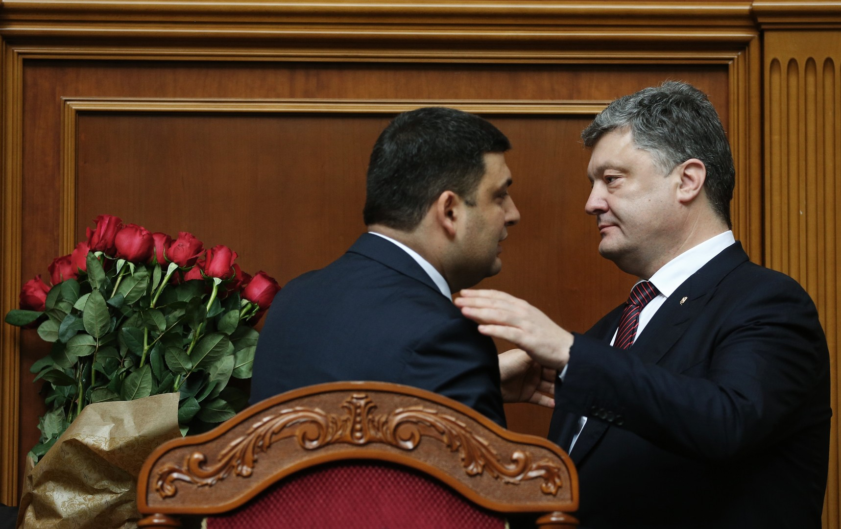 Allié de Porochenko, le nouveau Premier ministre ukrainien pourra-t-il lutter contre la corruption ?
