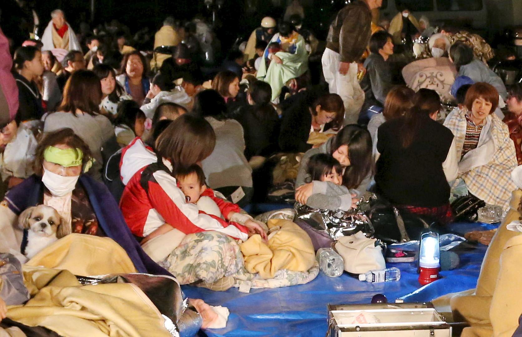 Japon : au moins 9 morts et plus de 700 blessés après une série de forts tremblements de terre