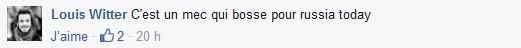"""Capture d'écran du groupe facebook """"Blocus Paris"""""""