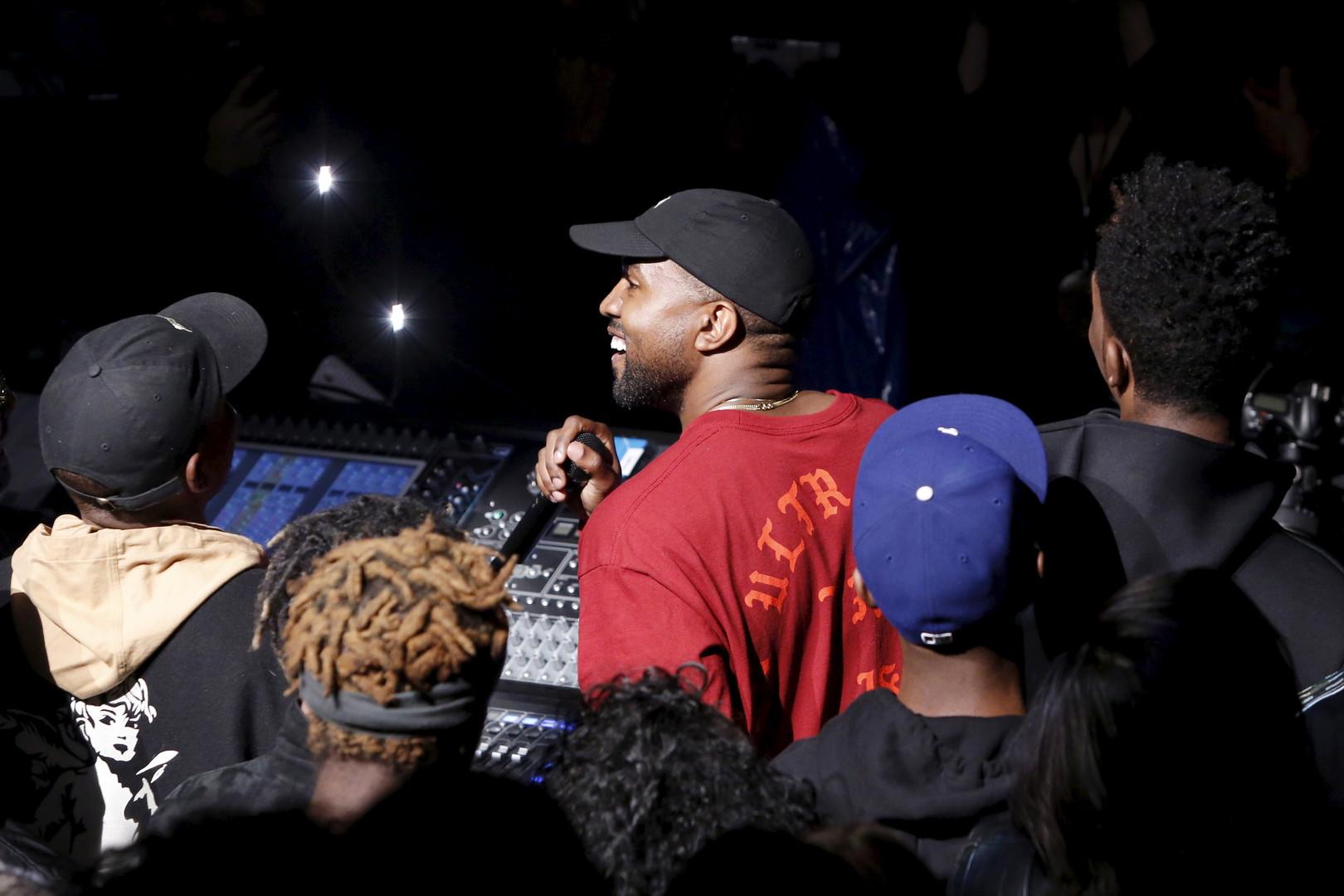 Kanye West au Madison Square Garden