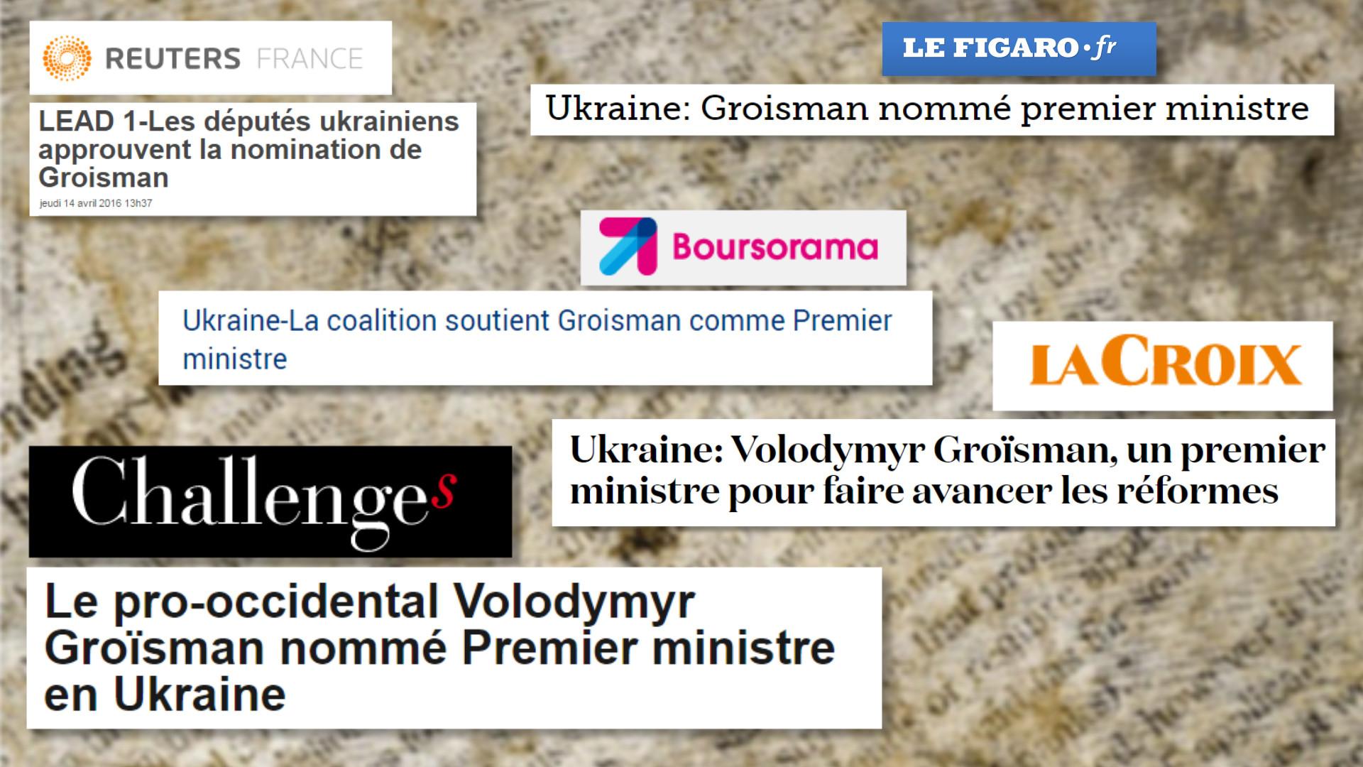 Le silence des grands médias sur le passé trouble du nouveau président de la Rada
