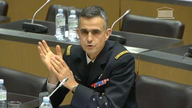 Le général Soubelet lors d'une audition à l'Assemblée nationale.