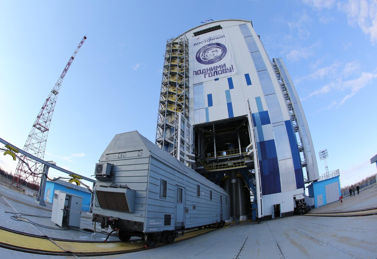 Le premier lancement historique depuis le cosmodrome de Vostotchny a été repoussé