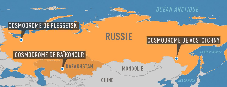 Le premier lancement depuis le nouveau cosmodrome russe en passe d'être réalisé