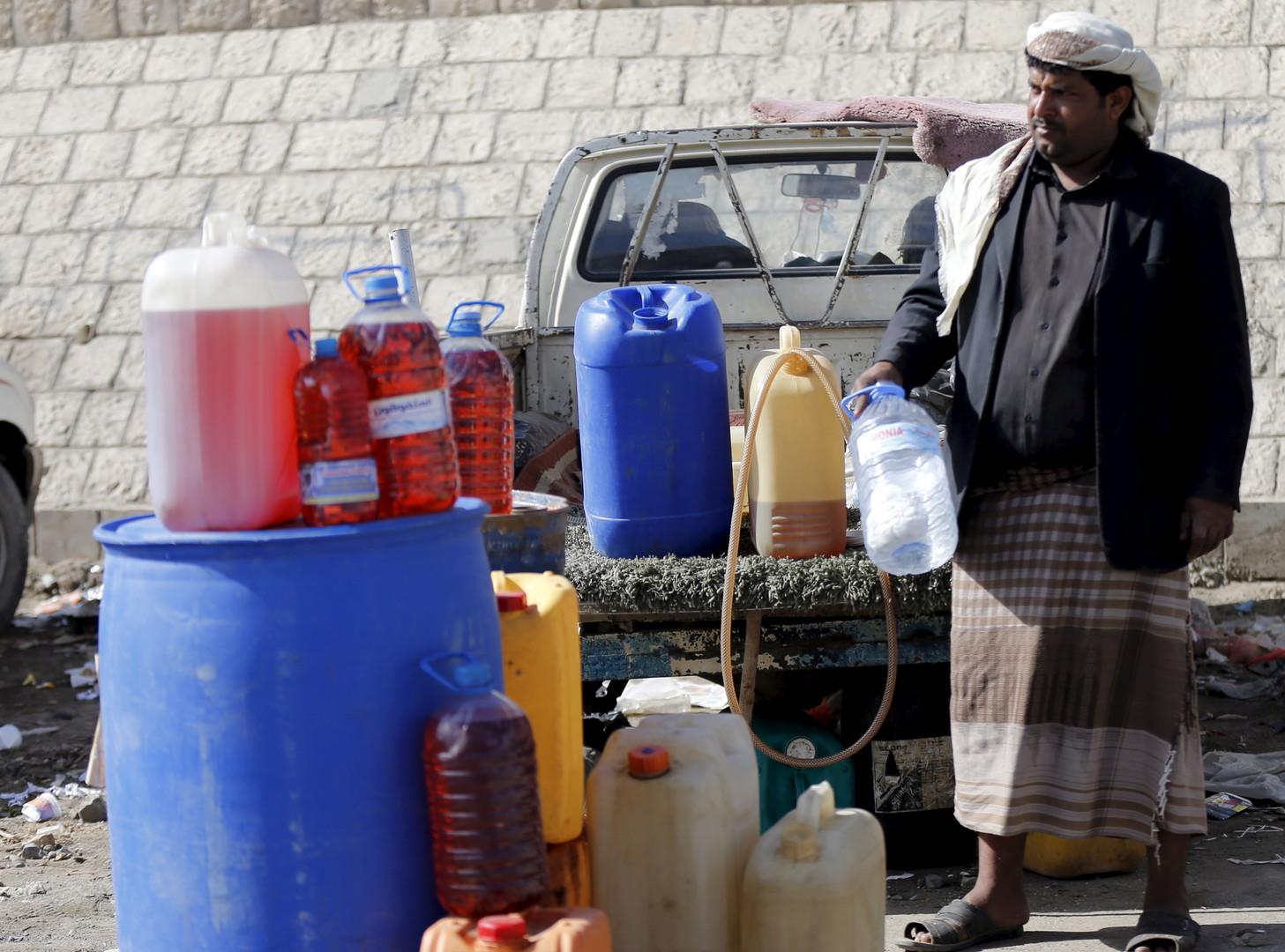 Le pétrole du marché noir au Yémen