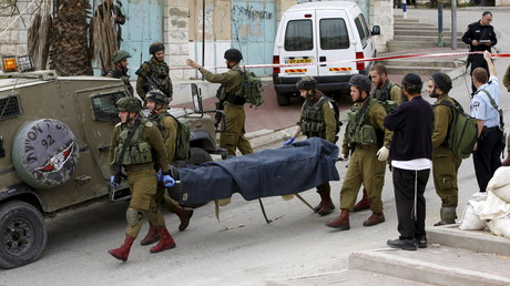 Le corps du Palestinien tué par le soldat franco-israélien