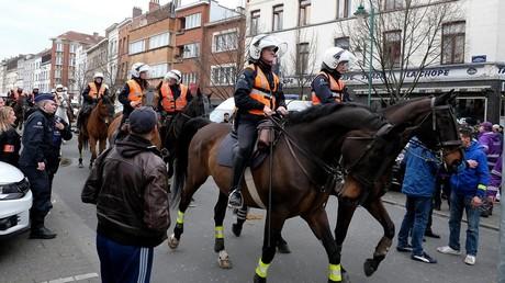 Belgique : de gros incidents secouent la capitale en marge de manifestations (IMAGES, VIDEOS)