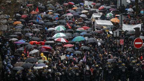 Nombreuses mobilisations étudiantes dans tout le pays aujourd'hui contre la loi travail.