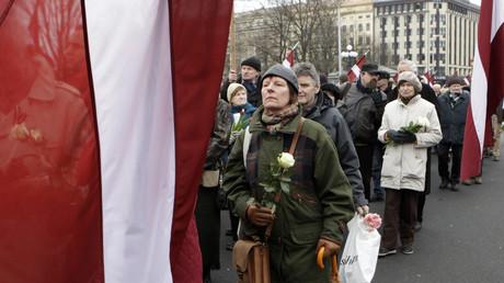 La commémoration annuelle des combattants du Waffen-SS en Lettonie
