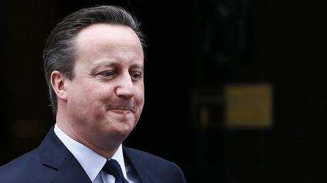 Le Premier ministre du Royaume-Uni David Cameron