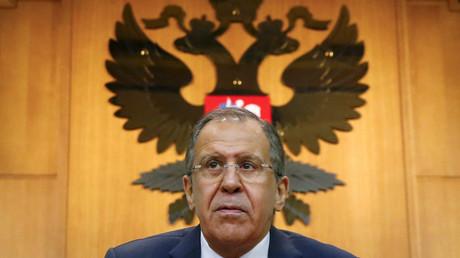 Ministre des Affaires étrangères russe Sergueï Lavrov