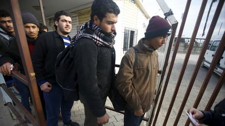 Demandeurs d'asile syriens en Turquie