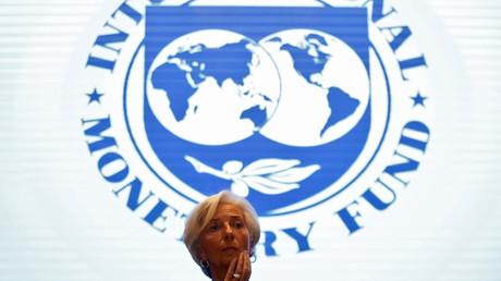 Christine Lagarde - présidente du FMI