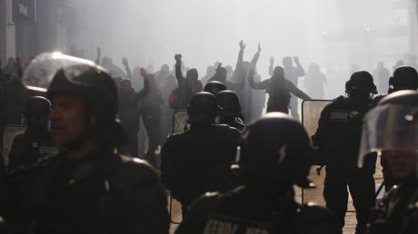 Le département d'Etat américain blâme la France... pour avoir violé les droits de l'Homme