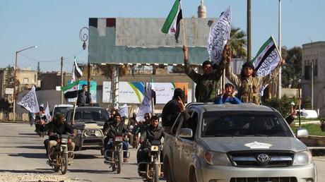 Des rebelles de l'Armée syrienne libre