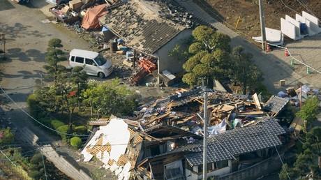 Les conséquences du séisme du 14 avril au Japon
