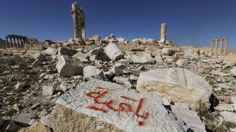 La ville syrienne de Palmyre, récemment reconquise par les troupes de Bachar al-Assad